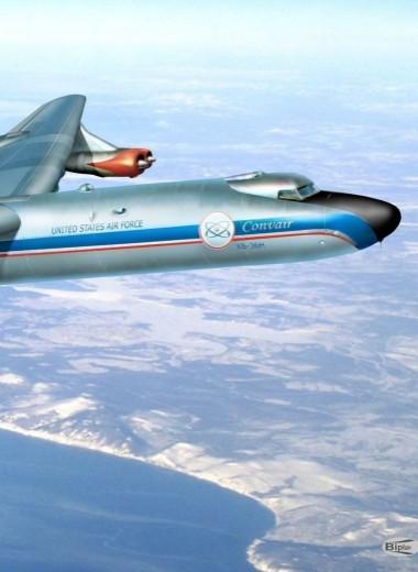 Летающая радиация: самолеты с ядерной силовой установкой