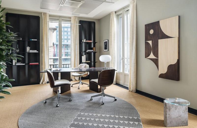 Что художники сделали с офисом Vogue Italia