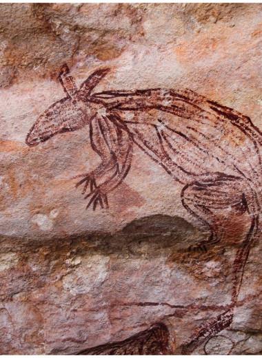 В Австралии найдены удивительные наскальные рисунки: фото