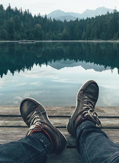 «Быть озером»: как природа помогает нам сохранять душевное равновесие
