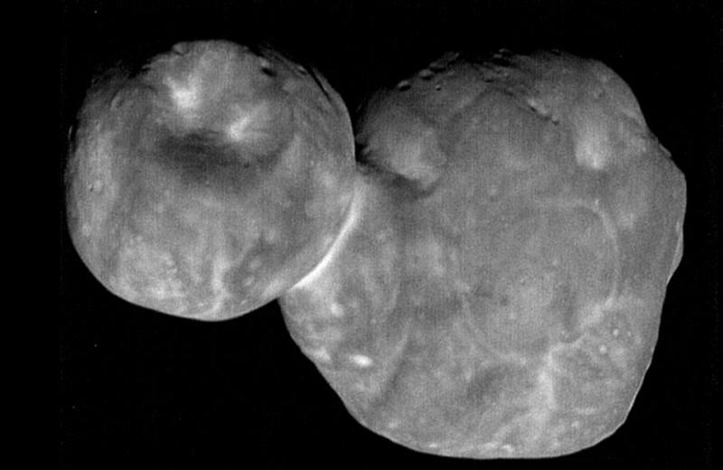 Астероид Ультима Туле, каким его еще не видели: фото от New Horizons