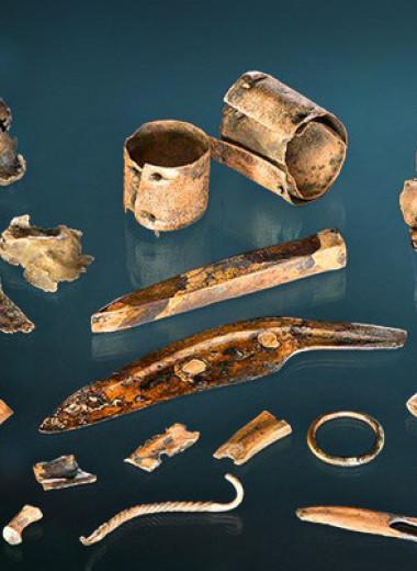 Обломки предметов из кладов бронзового века назвали деньгами