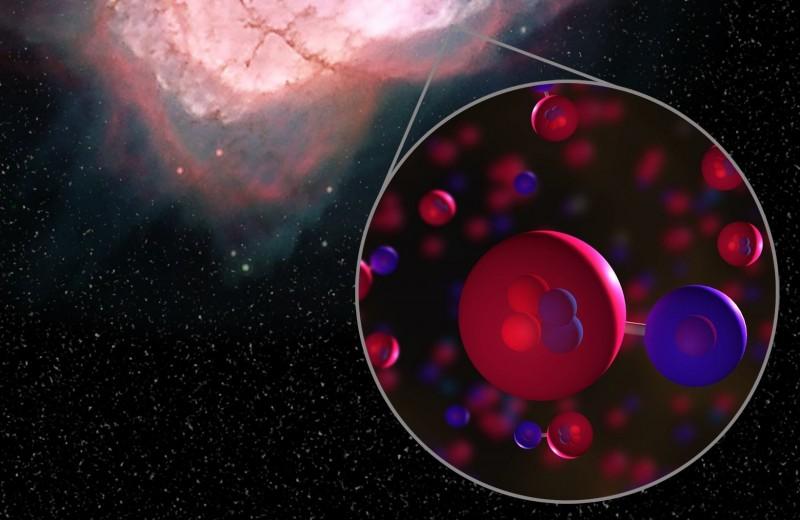 Найдены самые древние молекулы во Вселенной