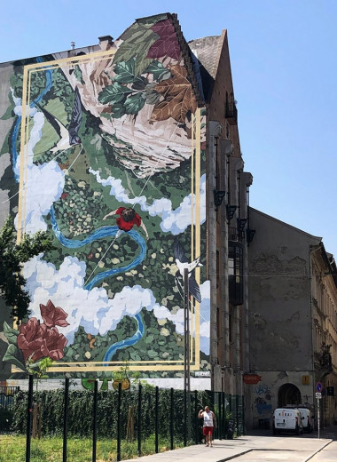 Граффити очищают воздух в мегаполисе: опыт Будапешта