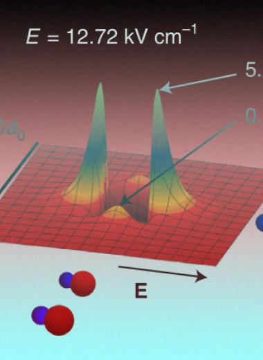 Холодные молекулы в трехмерном газе защитили с помощью электрического поля