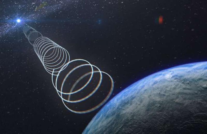Из центра Галактики исходит странный сигнал, который включается и выключается случайным образом