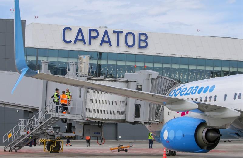 Авиакомпании сократили число рейсов в построенный Вексельбергом аэропорт Саратова