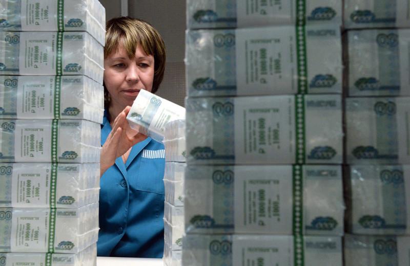 Банки недосчитались каждого четвертого казенного рубля