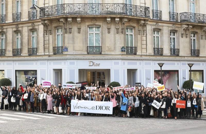 Как модные корпорации поддерживают женщин