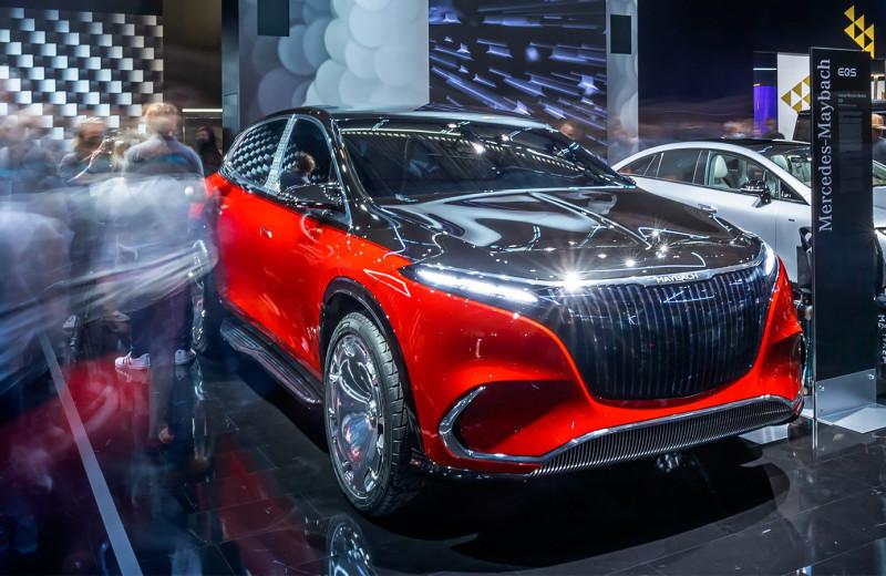 От Maybach с золотом до BMW из вторсырья: 7 необычных концепт-каров