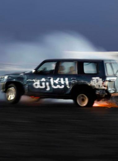 Арабский дрифт. Как издеваются над машинами и чем это заканчивается