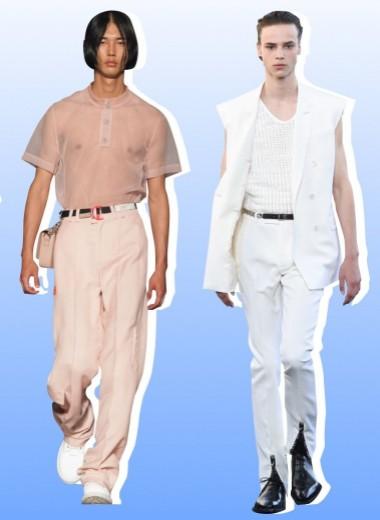 Главные тенденции мужской моды сезона весна–лето 2020