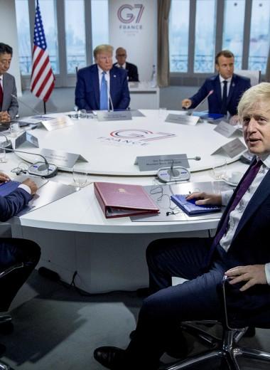 Роль проштрафившегося физрука: почему не стоит ждать возвращения России в G7