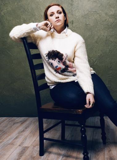 Лина Данэм — олюбимых телешоу, книгах ио своем новом сериале «Кемпинг»
