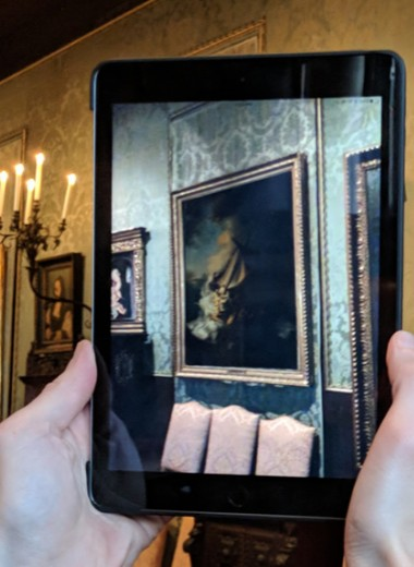 Дополненная реальность вернет в музей украденные картины Рембрандта