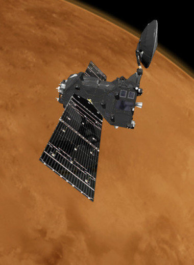 Угарный газ рассказал о циркуляции в атмосфере Марса