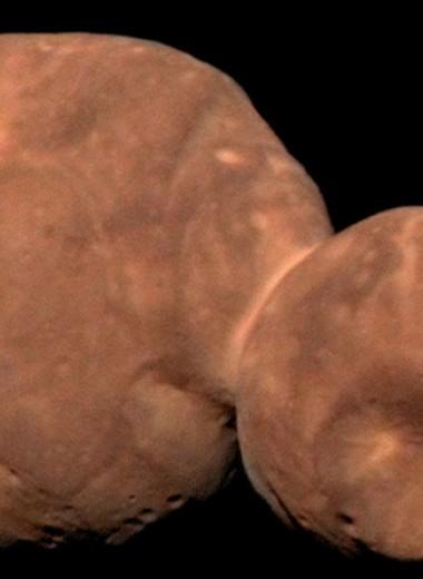 Самый крупный кратер Аррокота рассказал о его ударном прошлом
