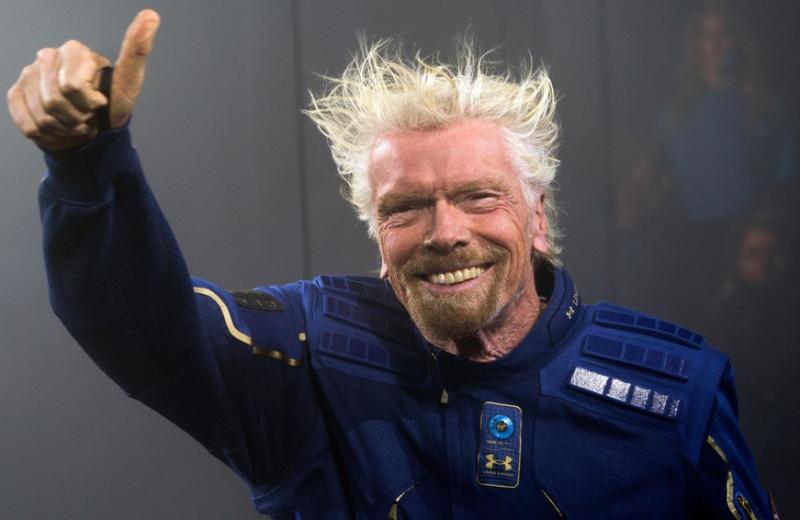 Маршрут построен: как Брэнсон исполнил свою мечту о космосе