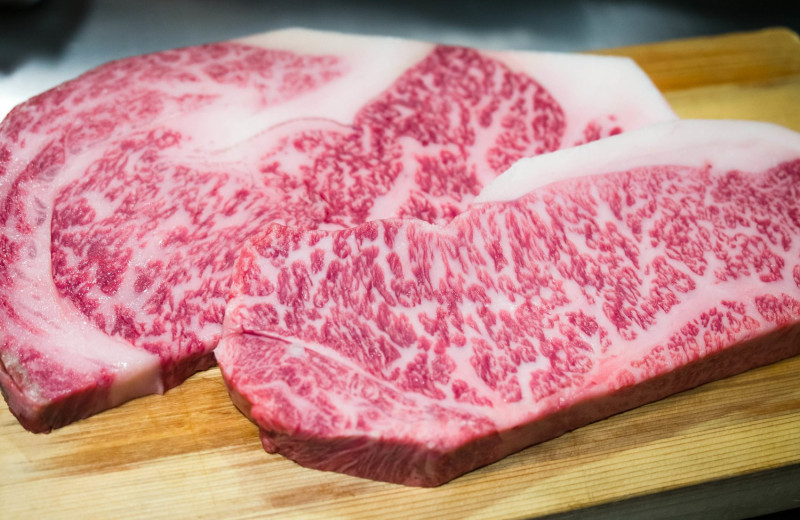 В Японии на 3D-принтере напечатали мраморную говядину вагю