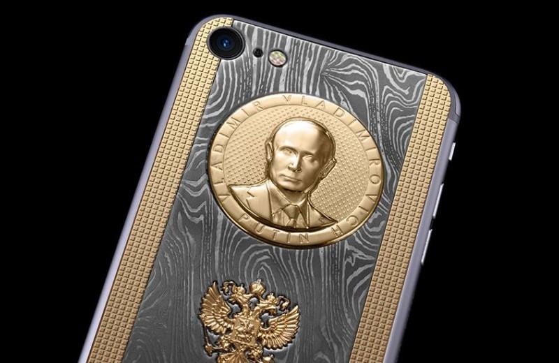 Путин из чистого золота: как нижегородец заработал миллионы на драгоценных смартфонах с патриотичным дизайном