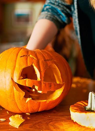 Фонарик Джека: тыква на Хэллоуин своими руками