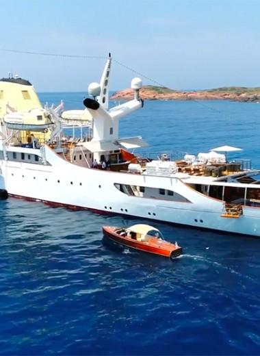 Суперъяхты из «старых калош»: лодки богатейших людей мира, переделанные из военных кораблей и гражданских судов