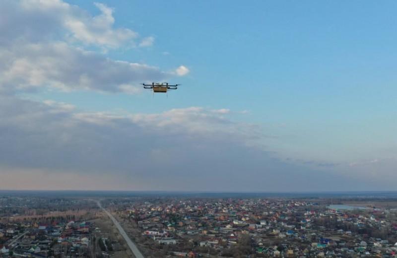 Манна небесная: российские дроны доставки еды