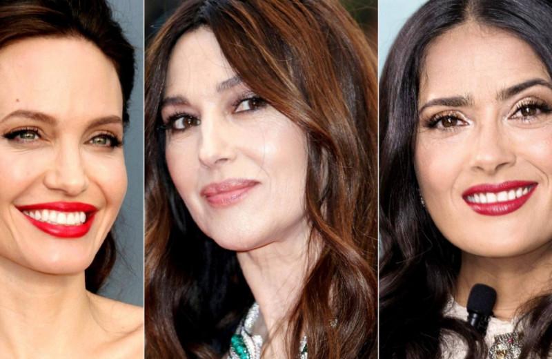 Как выглядят дочери красавиц-брюнеток Голливуда: Джоли, Беллуччи, Хайек и других