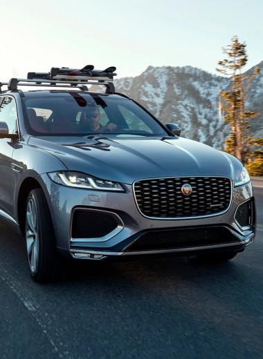 Двойной «Джей». 7 фактов об обновлении Jaguar F-Pace