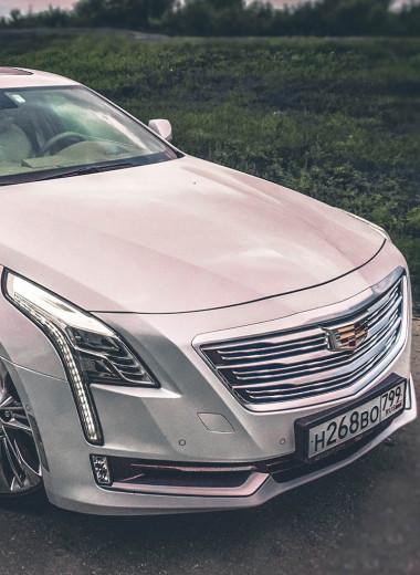 Ультраамериканец: тест Cadillac CT6