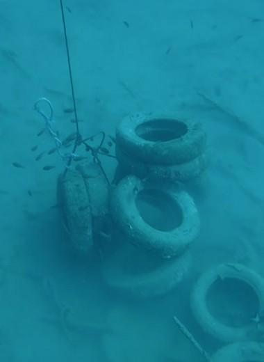 Тысячи покрышек поднимают со дна Средиземного моря: видео