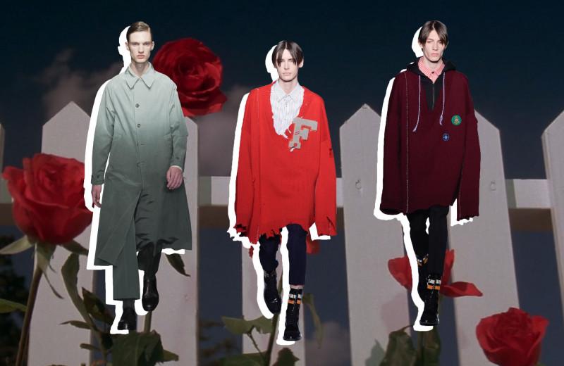 Красная комната и синий бархат: 5 модных показов и съемок, отсылающих к фильмам Дэвида Линча