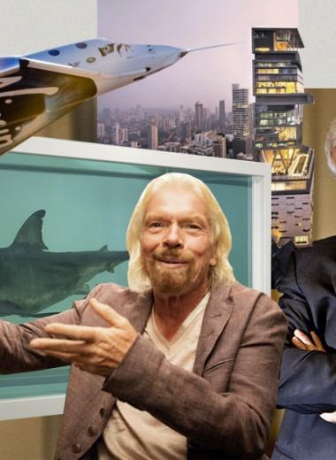 Маринованная акула и личный небоскреб: 10 странных покупок миллиардеров