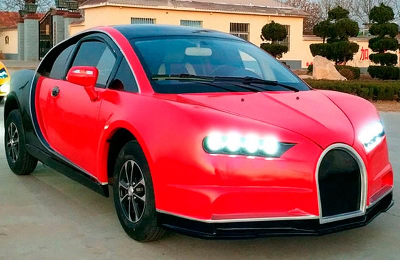 Копии Lambo, Mercedes, Bugatti. Топ-5 самых страшных клонов из Китая