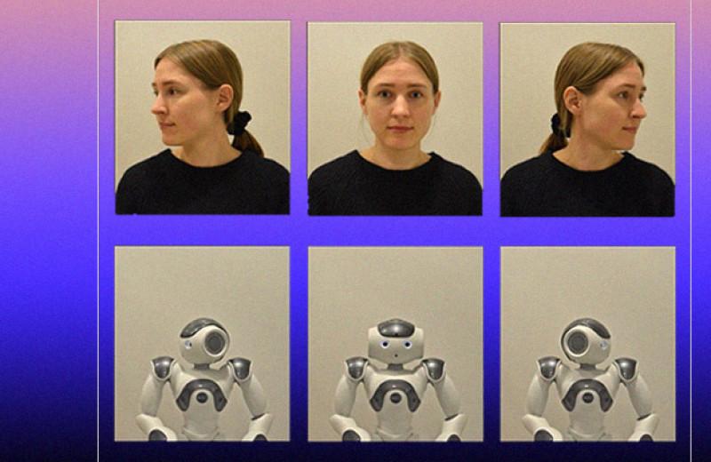 Зрительный контакт с роботом и человеком вызвал схожие психофизиологические реакции