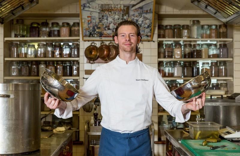 Блюда от московского шеф-повара на на Мальдивах