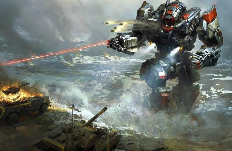 Боевые шагоходы: со страниц фантастики в реальность