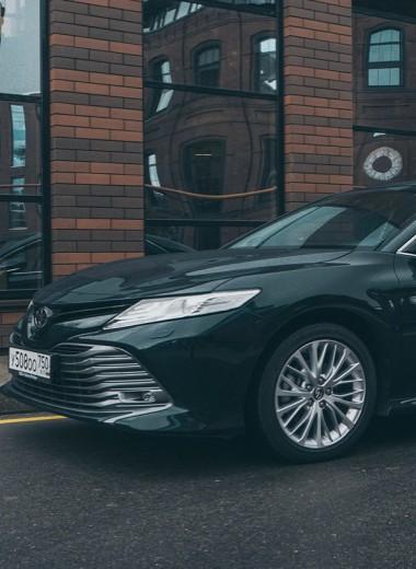 Трансформация: тест Toyota Camry V6