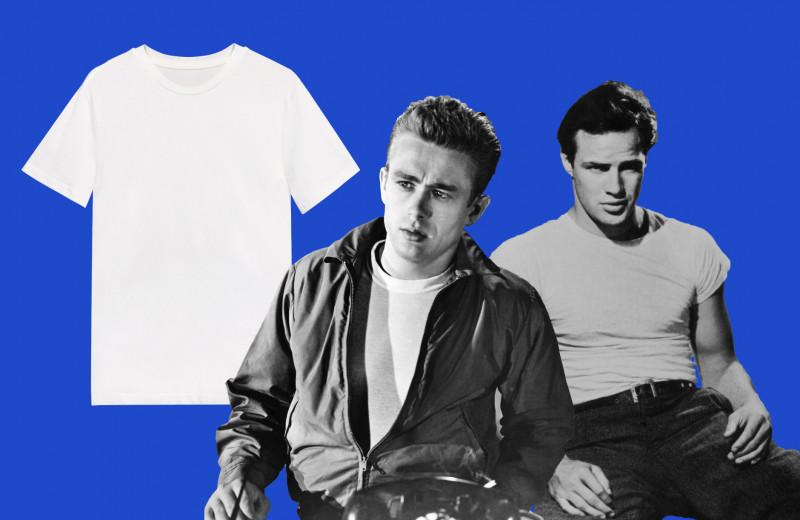 От белья холостяков до культовой базы: краткая история белой футболки в мужском гардеробе