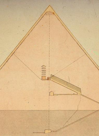 Что скрывают неисследованные пустоты пирамиды Хеопса