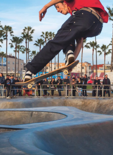 Из маргиналов в суперзвезд: взлет популярности скейтбординга