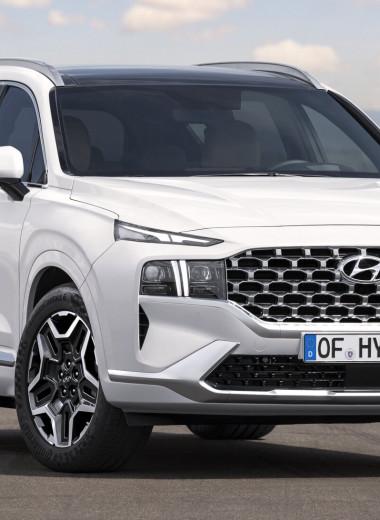 Обновлённый Hyundai Santa Fe выходит на российский рынок