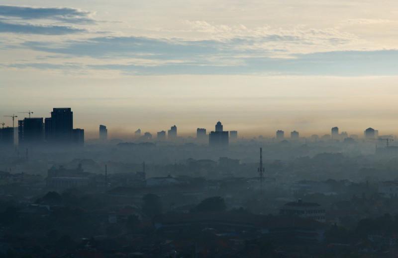 99 из 100 городов с наибольшими экологическими рисками находятся в Азии