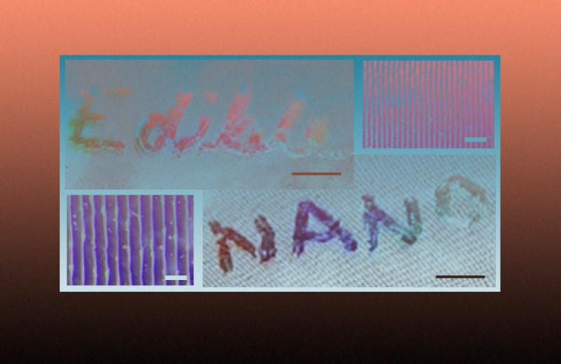 Физики сделали съедобные голограммы из кукурузного сиропа и ванильного экстракта