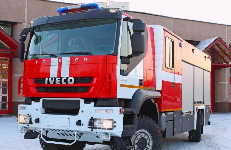 Работа с огоньком: как устроена пожарная машина