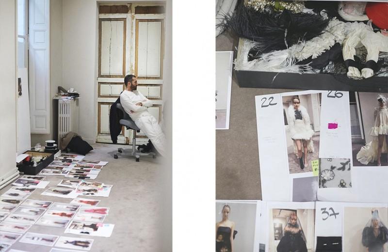 Как создавалась кутюрная коллекция Giambattista Valli весна-лето 2019