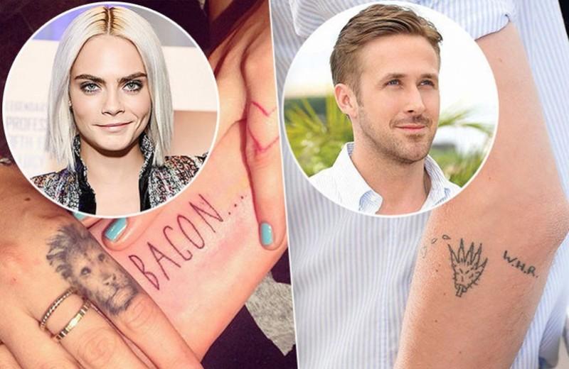 Странные, нелепые и сумасшедшие татуировки звезд. Зачем они это сделали?!