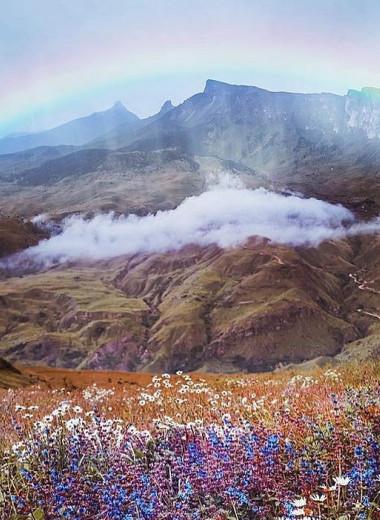 История одного кадра: красота Северной Осетии