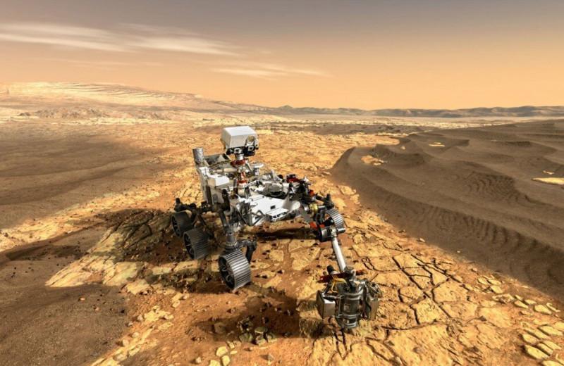 Кислоты могли уничтожить свидетельства существования жизни на Марсе