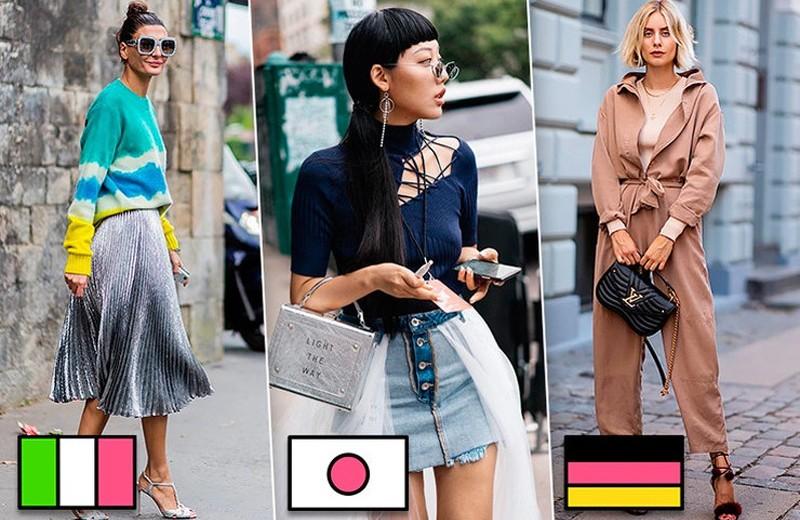 Как одеваются француженки, итальянки и другие модницы из разных стран мира